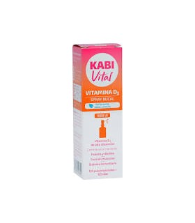 KABIvital vitamina D3 1000 UI spray bucal 125 dosis
