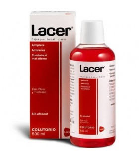 Lacer enjuague bucal diario 500 ml