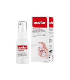 Acofar clorhexidina spray 25 ml