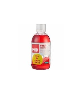PHB total plus enjuague bucal 400ml + 100ml